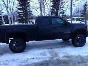 2008 Silverado LTZ lifted trade for a lifted jeep.
