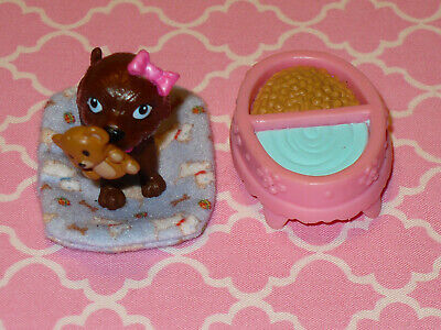 Mattel Barbie Doll Accessory Lot IPUPPY DOG PET with ACCESSORIES Dream House