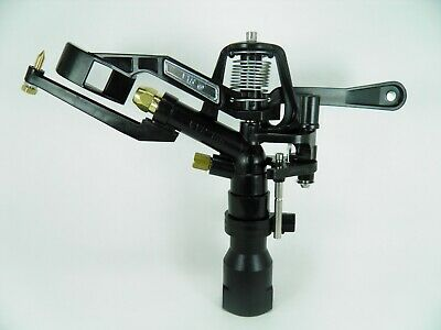 1 New Vyrsa 166 1 Double Noz Adjustable Impact Sprinkler Great Coverageprice