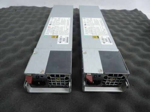 LOT OF 2 SuperMicro PWS-1K21P-1R 1000W Power Supply   80 Plus Gold