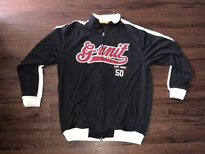 RARE Vintage G-Unit Stitched Formula 50 Heavy Weight Full Zip Hoodie Size XXL for sale  Round Rock