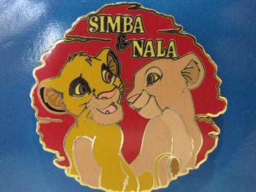 2002 Disney Store Trading Pin 12 Months of Magic The Lion King Simba & Nala
