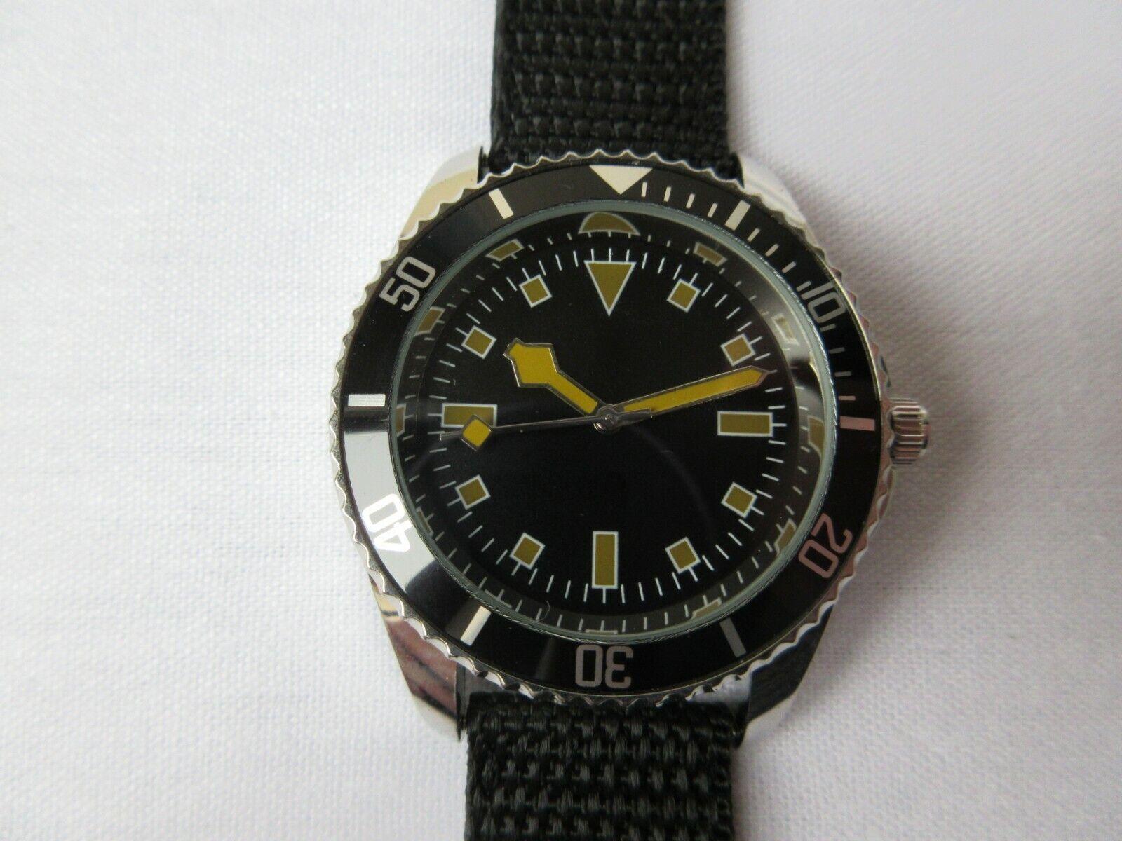 Eaglemoss Replica Military watch: South African Seaman 1970s
