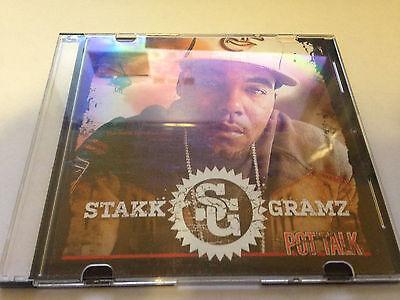 Stakk Gramz Pot Talk Cd Demo Ep 5 Songs Baltimore Rap Hip Hop