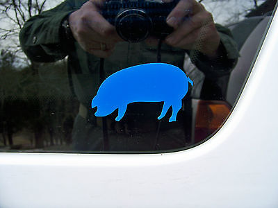 Thin Blue Line BLUE PIG identifier- a fun way to show your colors!  #1 TRENDING