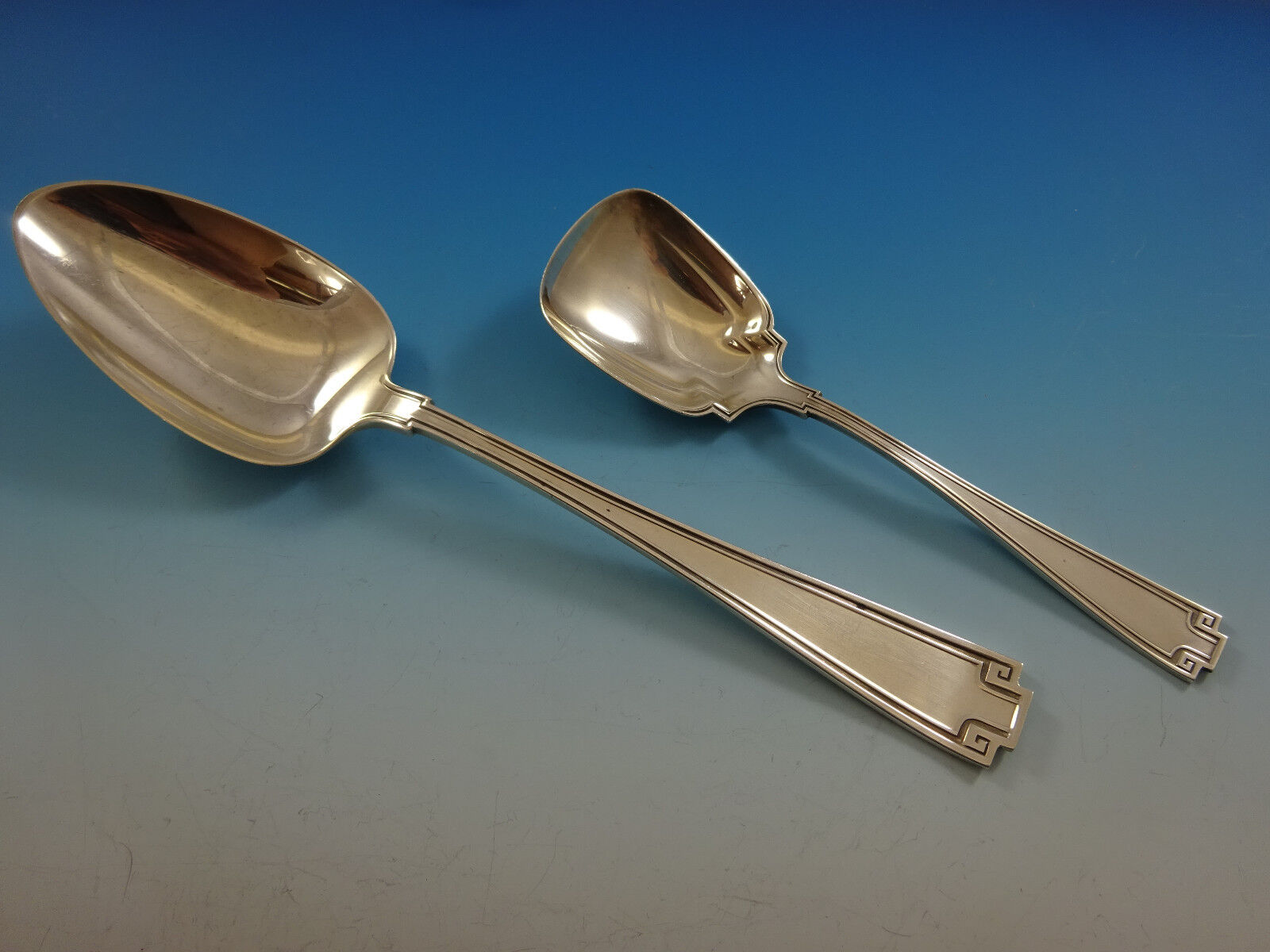 Etruscan By Gorham Sterling Silver Flatware Service For 12