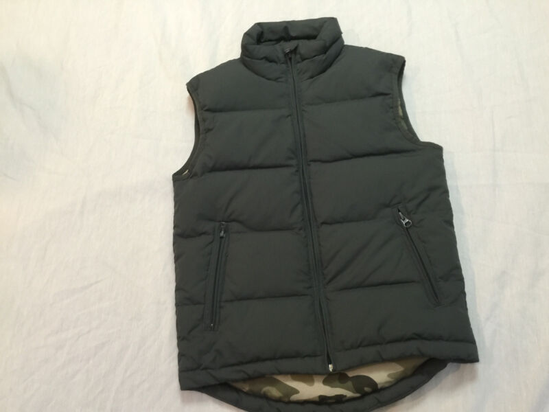 PREMIUM UNIONBAY HANDCRAFTED PUFFER DUCK DOWN VEST BOYS SIZE S