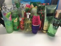 Body mists and creams