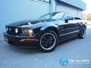 2007 Ford Mustang GT Convertible! Only 61000kms! Local!