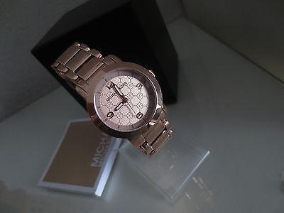 Michael Kors MK Damen Armband Uhr MK3159 Edelstahl Farbe rosegold Uhren Damenuhr