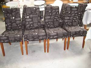 8 high back matching chairs Port Lincoln Port Lincoln Area Preview