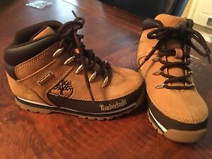 Toddler boots US size 12  Timberland