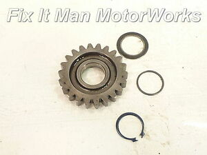 94-Honda-XR250L-Kick-Starter-Pinion-22T-Gear-OEM-Kicker-Kickstart-Start