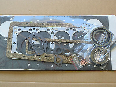 Complete Engine Gasket Set For Ih International 154 Cub Lo-boy 184 185 Farmall