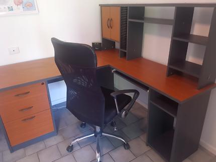 desk in office. Timber Office Desk | Desks Gumtree Australia Coffs Harbour City - 1181563020 In E