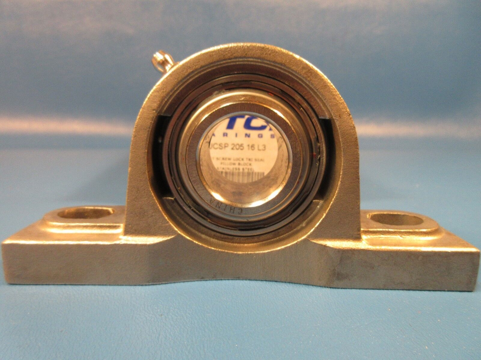 """10pcs 1/"""" Stainless Steel Pillow Block Bearing SUCSP205-16 Solid Base"""