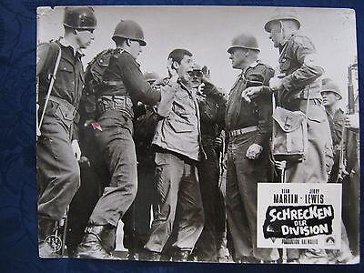 Kinoaushangfoto Schrecken der Division / Jumping Jacks  Dean Martin , J.Lewis 9.