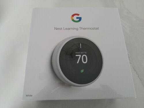 Brand New Google - Nest Learning Thermostat - 3rd Generation