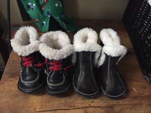 Toddler Jack and Lily soft soled boots