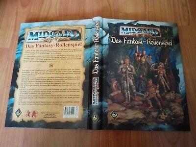 MIDGARD GRUNDREGELWERK BUCH HARDCOVER FAST NEUWERTIGER ZUSTAND BASIS BUCH