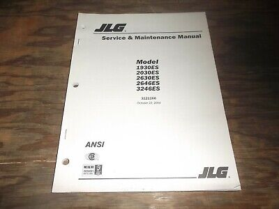 Jlg 1930 | Owner's Guide to Business and Industrial Equipment