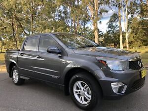 2014 Ssangyong Actyon Sports 4x4 Dual Cab Diesel Turbo Logbooks