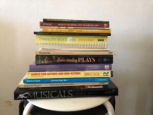 Theatre / Drama Books (Voice production, teaching, speech)