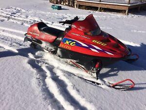 2000 Polaris xc 600 with reverse