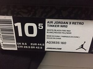 quality design fe3d8 90f47 Jordan 3 by Tinker!