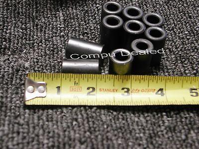 Lot Of 10 Ferrite Toroidal Core 1 18 X 34 X 38dark Gray. Int. Dim. Abt.