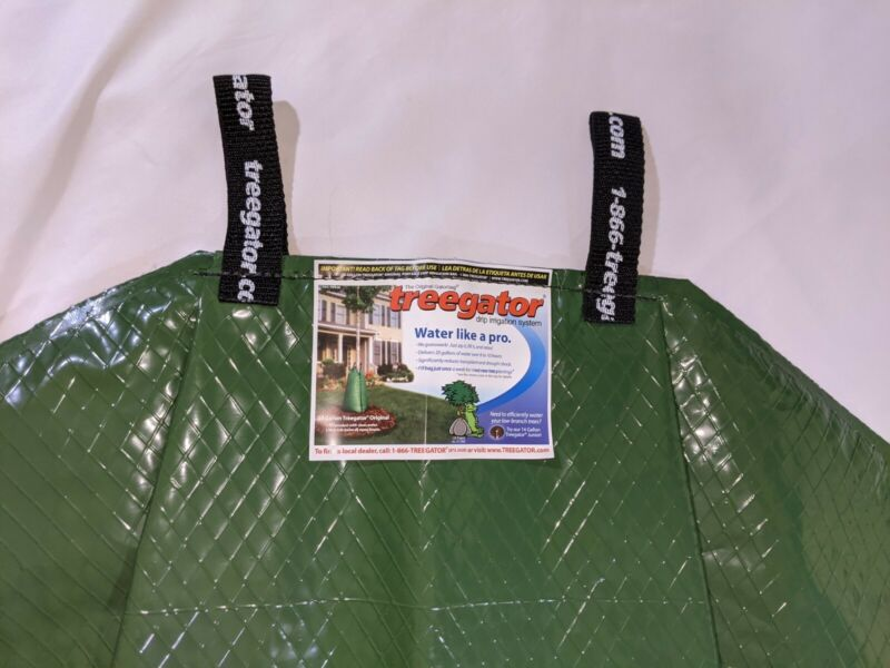 Treegator Original 20 Gallon Portable Drip Irrigation Bag New Zips Up W Handles