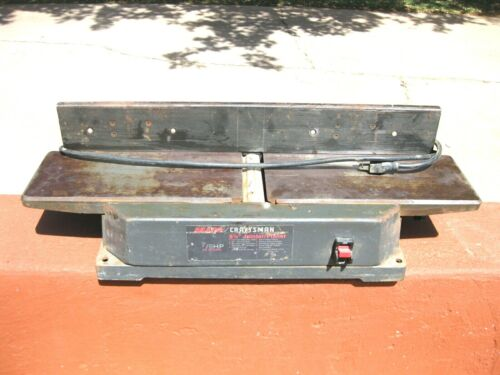 NICE Very Vintage Sears Craftsman Working Jointer/Planer 7/8 HP
