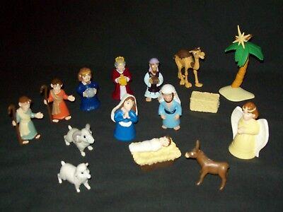 Children Christmas Nativity Play Set Bible Toys Tales of Glory Figures Animals - Nativity Animals