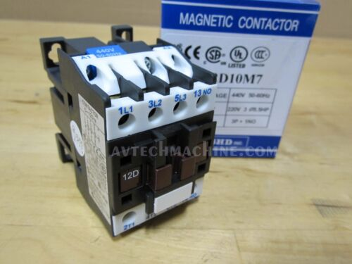 C-12D10M7 NHD Magnetic Contactor Coil 440V 4A Normally Open