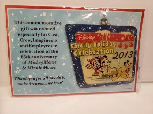 Disney Family Holiday Celebration Cast Member Christmas Ornament 2013 NEW
