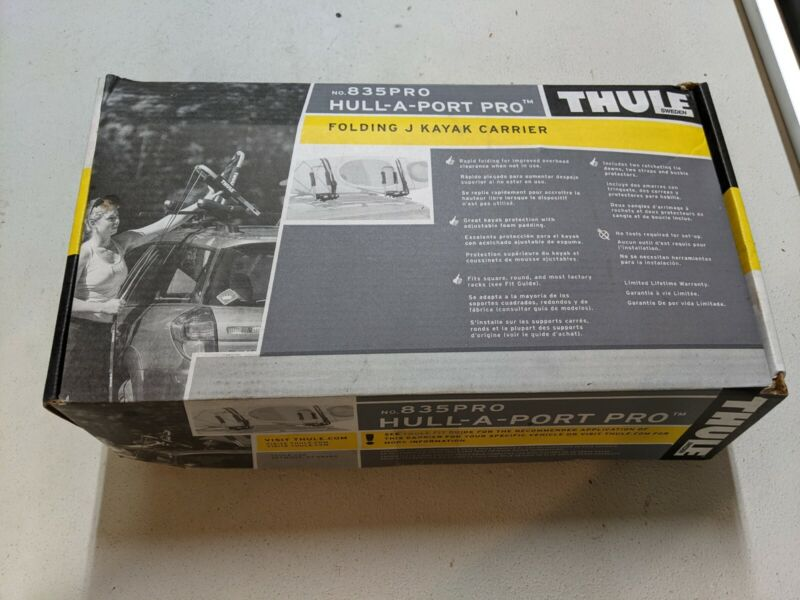 Thule Hull-A-Port Pro Folding Rooftop Kayak Carrier - 835PRO