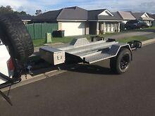 Fully galvanized tilt motorbike trailer Aberglasslyn Maitland Area Preview
