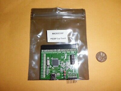 Microchip Capacitive Touch Pic18f Ctmu Evaluation Board