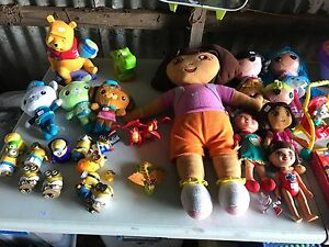 Various toys for boys and girls. Somerville Mornington Peninsula Preview