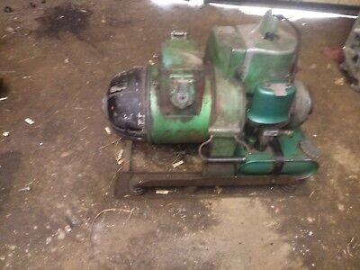 Vintage Homelite 24hy1 115 230 Volt 3 Phase Army Military Generator