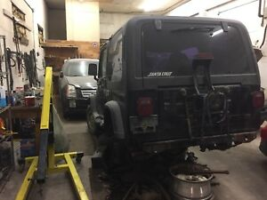 1993 JEEP YJ ... Project.. requires work
