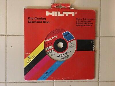 Hilti - Dc12 12 Dry Cutting Diamond Blade Non Segmented