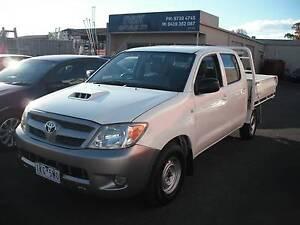 2006 Toyota Hilux SR DUAL CAB TRAY Ute Mooroolbark Yarra Ranges Preview