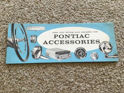 1958 Pontiac   original dealership accessories sales catalogue.