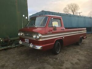 1964 Corvair side ramp delivery truck
