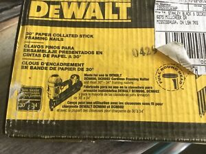 Dewalt 30 degree Paper Collated Stick Framing Nails