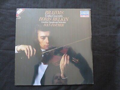 BRAHMS, Violin Concerto Boris Belkin Fischer LSO Holland NEW SEALED OLD STOCK LP