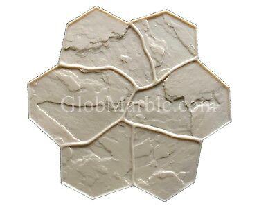 Concrete Stamp Flex Floppy Mat Form SM 1903/4 Decorative Concrete Random Stone