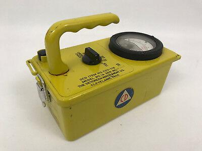 Victoreen Instrument Co. Radiation Detector Cdv-715 Model No. 1a Geiger Counter