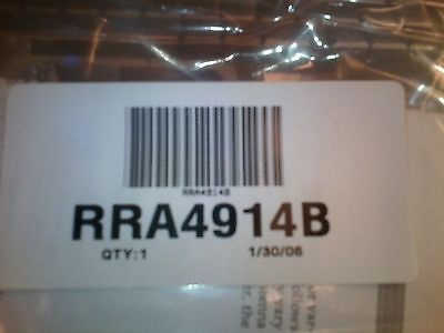 Motorola Antenna Rra4914b 806-900 Mhz 3 Db Gain W Chrome Nut W Coax New